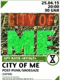 25.04 | CITY OF ME (post-punk/shoegaze)