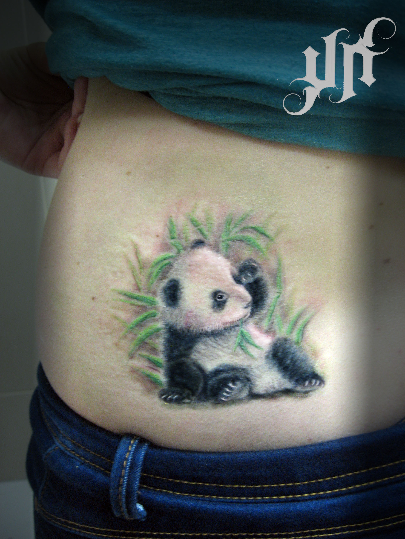Панда фото для тату