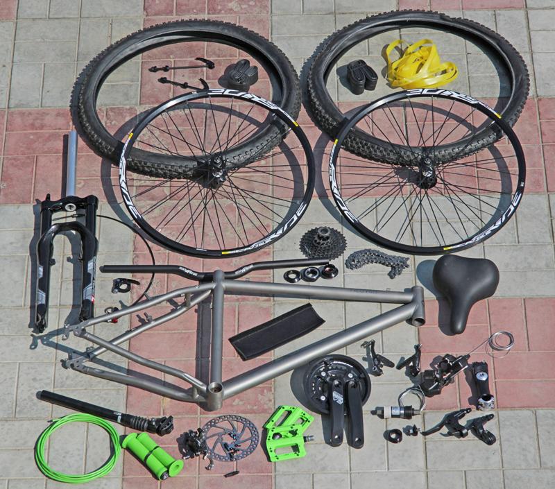 Велосипед собранный своими руками 956