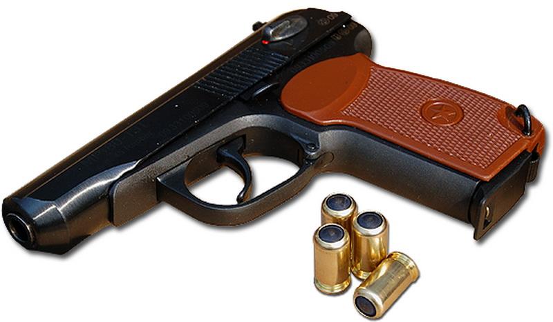 лицензионный голый пистолет-йг1