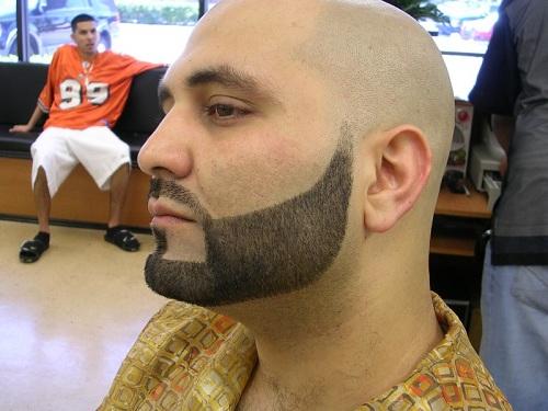 Как правильно сделать окантовку бороды